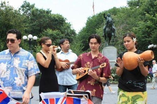 Ka Lā Ho'iho'i Ea 2009 Union Square